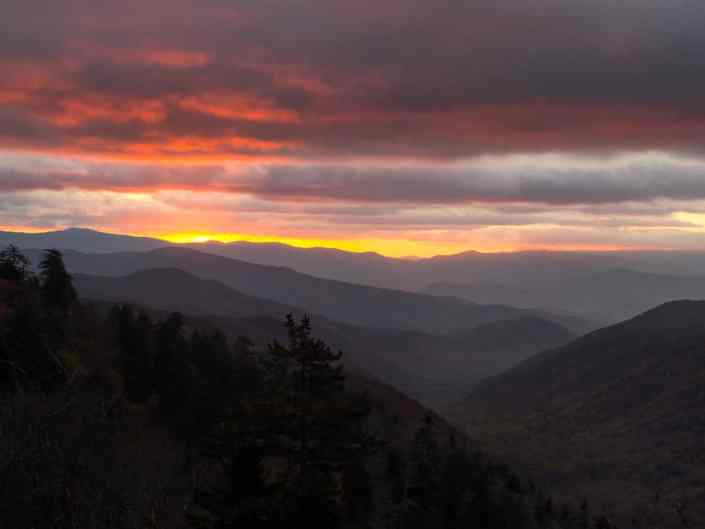 Great Smoky Sunrise