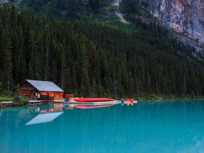 Lake Louise Boathouse