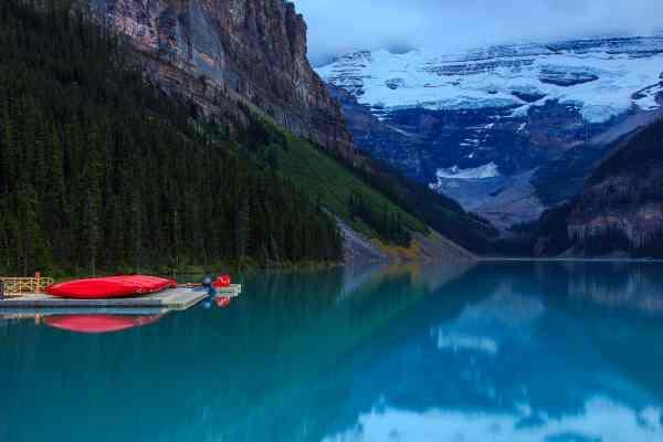 Lake Louise Canoes