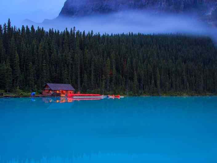 Lake Louise Mist