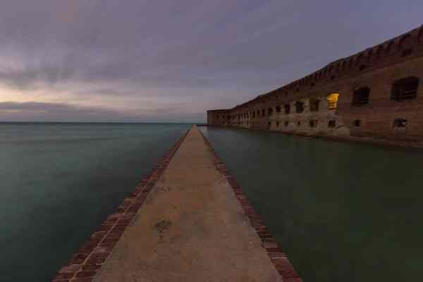 Light Fades on Fort Jefferson