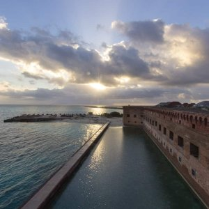 Light Over Fort Jefferson