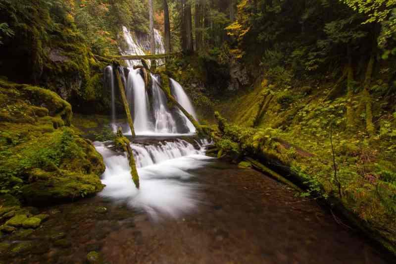 Lower Panther Creek Falls