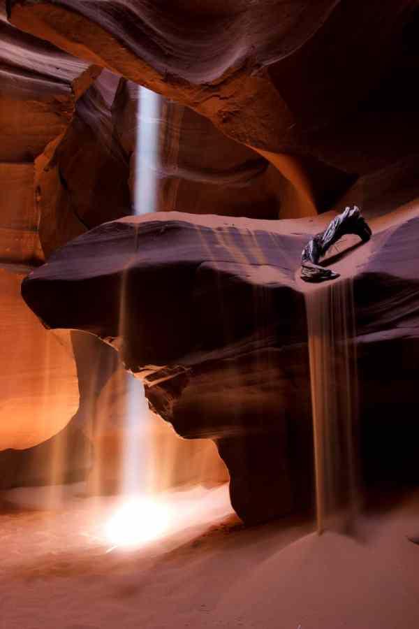 Sand Waterfall