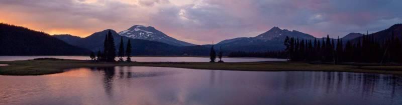 Sparks Lake Panorama