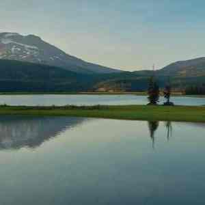 Sparks Lake Sunset Panorama