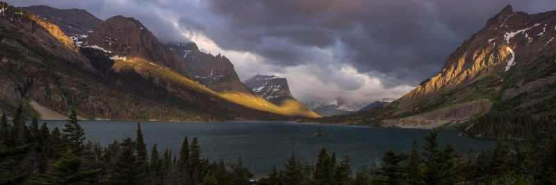 St Mary Lake Panorama