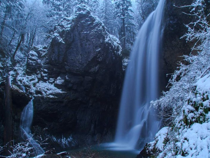 The Chill of Henline Falls