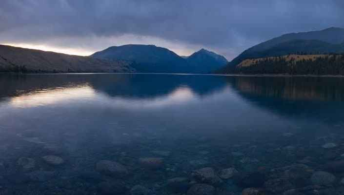 Wallowa Lake Panorama