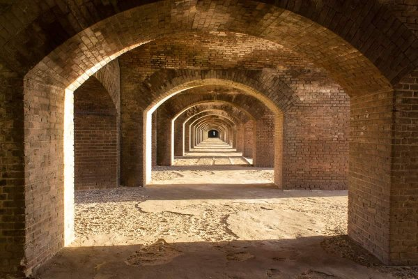 Arches of Fort Jefferson