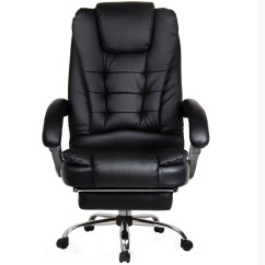 Office Chair Footrest Lane Big Tall Bonded Leather Executive Apex Deluxe Reclining Computer With