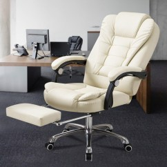 Reclining Office Chairs Australia Folding Chair Kijiji Apex Deluxe Executive Computer With