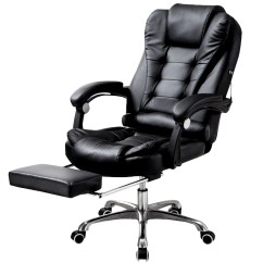 Desk Chair Footrest Best Recliner Reviews Apex Executive Reclining Office Computer With Foot Rest