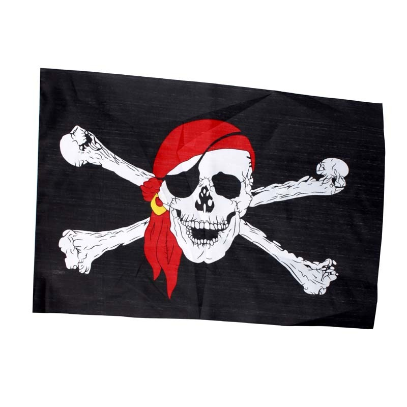 Bandana Skull And Crossbones Eye Patch