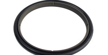 Structural type of components of hydraulic piston seals