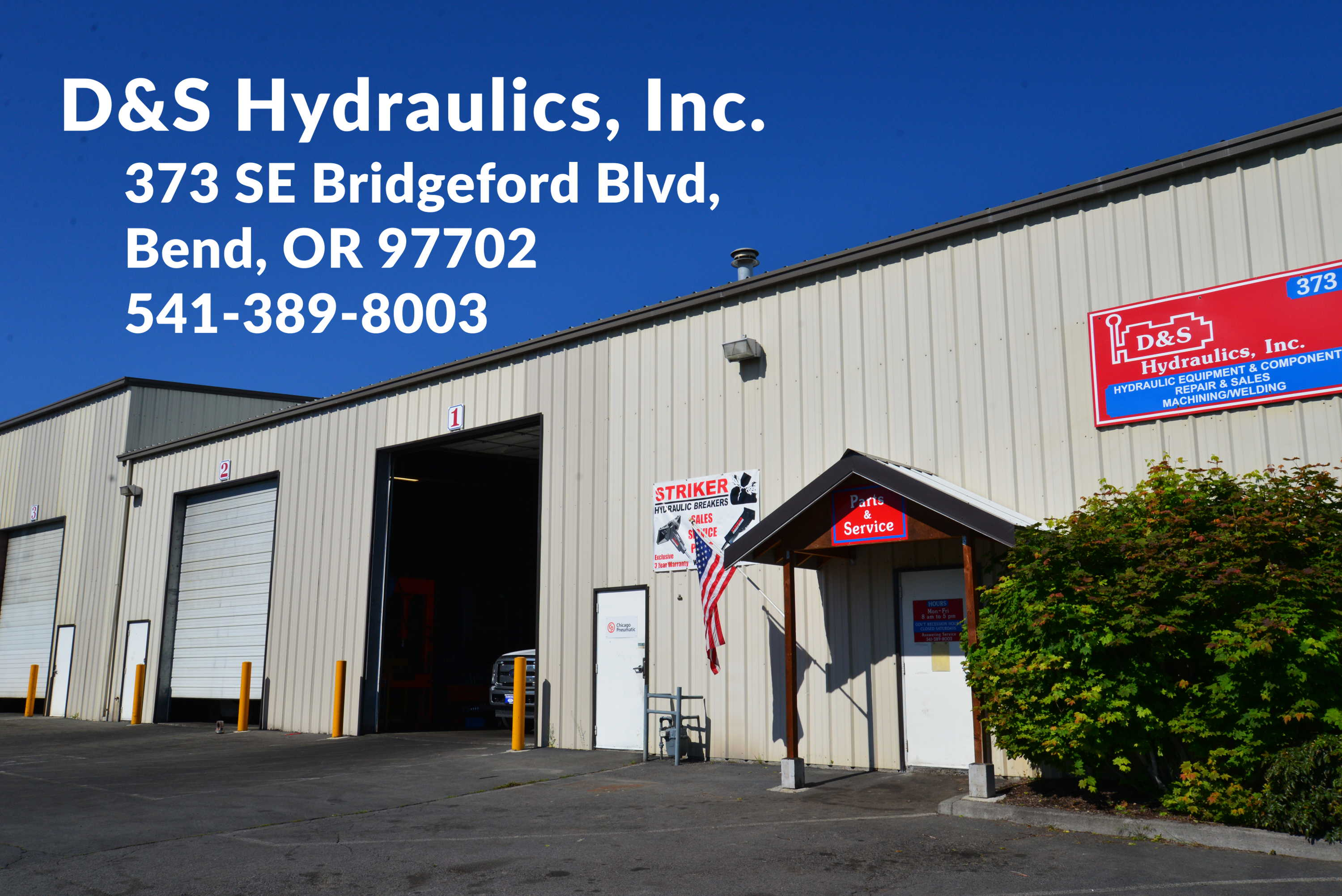 Machining and welding with full fabrication services at D&S Hydraulics in Bend