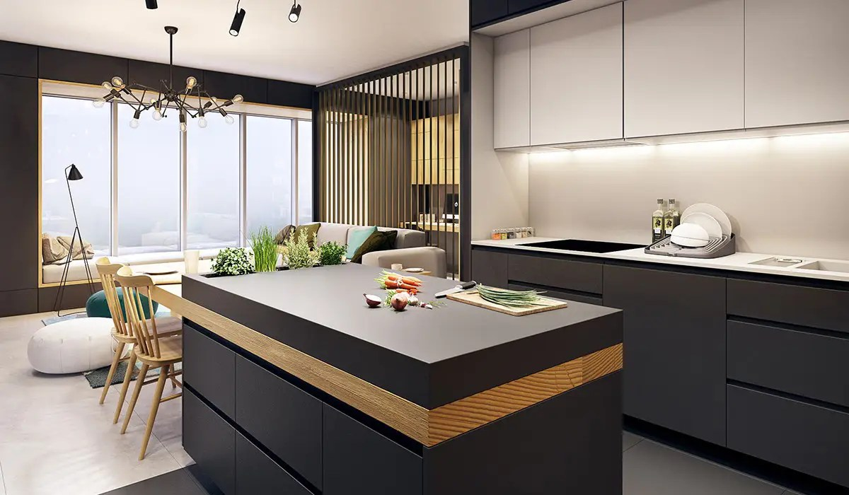 Small Kitchen Design Apartments