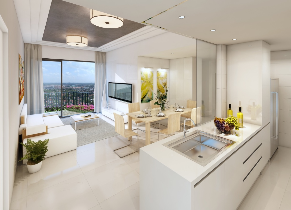 Small Apartment Interior Design Kitchen