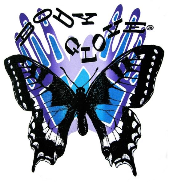 Butterfly Shadow T-Shirt Design