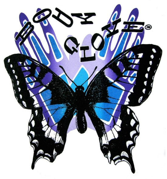 Butterfly Shadow T-Shirt Design