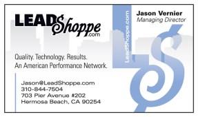 LeadShoppe.com  Logo Design and Business Card
