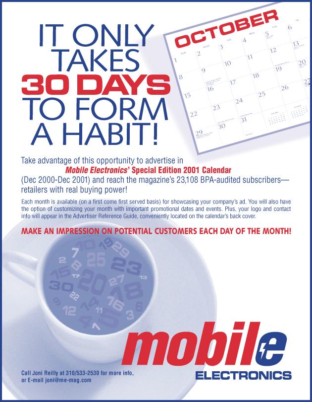 Mobile Electronics Ad