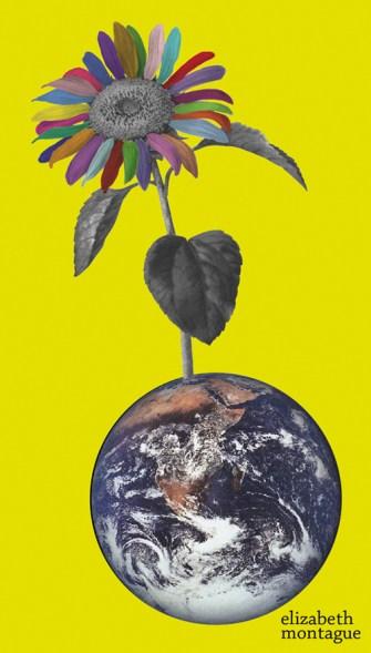 Multi-Colorful World Collage