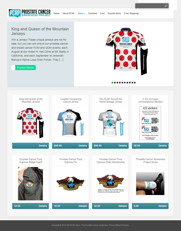 Prostate Cancer Awareness Store Design