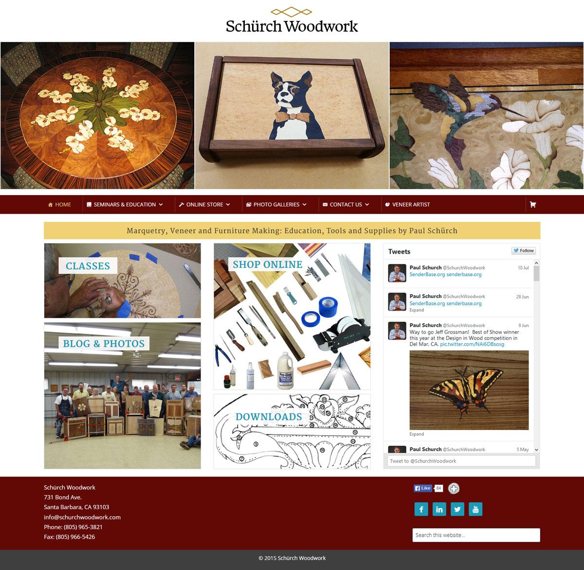 schurchwoodwork.com