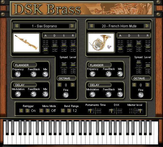Free VST download DSK Brass : DSK Music