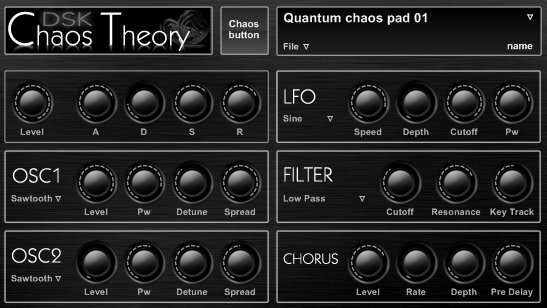 Free VST download DSK Chaos Theory : DSK Music