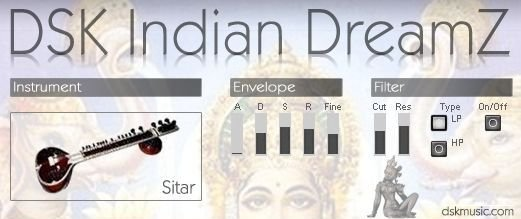 Free VST download DSK Indian DreamZ : DSK Music