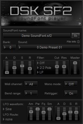 fruity loops soundfont player