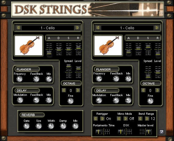 Free VST download DSK Strings : DSK Music