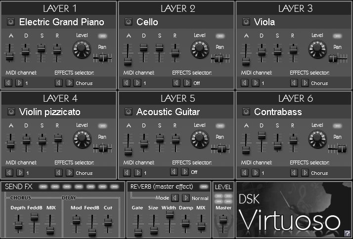 Free VST download DSK Virtuoso : DSK Music