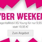 Cyber Weekend – MagentaMobil XS Young Angebot – Bis 13.02.2018