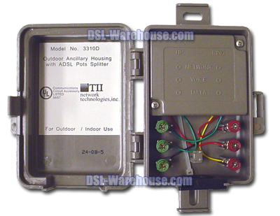 dsl splitter wiring diagram honeywell he360a furnace humidifier nid for warehouse
