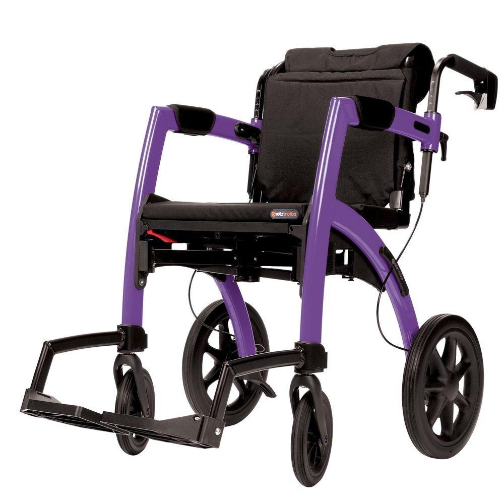 Topro Rollz Motion 2 In 1 Wheelchair & Rollator - DSL Mobility