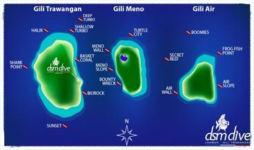 Padi Scuba Diving Gili Trawangan Senggigi Lombok
