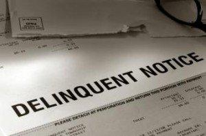 Delinquent Notice BH