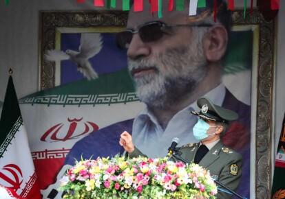 Церемонія похорону іранського провідного вченого-ядерника Мохсена Фахрізаде