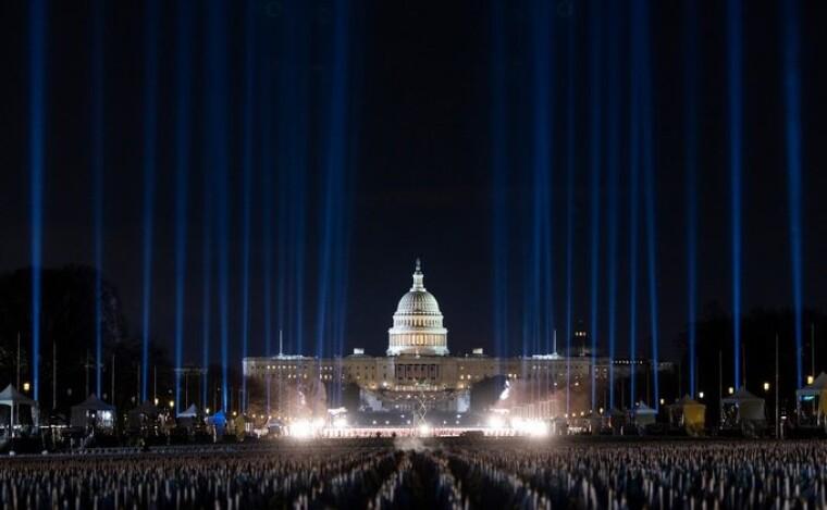 Експозиція на Національній алеї у Вашингтоні