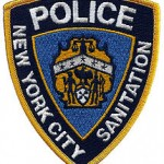 NYC Sanitation Police Patch