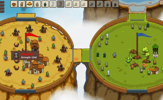 Circle Empires Is A New Real Time Strategy Game Coming