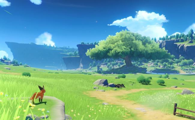 First Official Screenshots Released For Zelda Breath Of The Wild Inspired Jrpg Genshin Impact