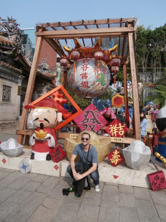 6 - Mi primer viaje fuera de Filipinas fue a Taiwán. Descubrimos su capital, Taipei, que mezcla la pasión por la tecnología (el metro era de otro mundo) con su respeto por lo cultural.