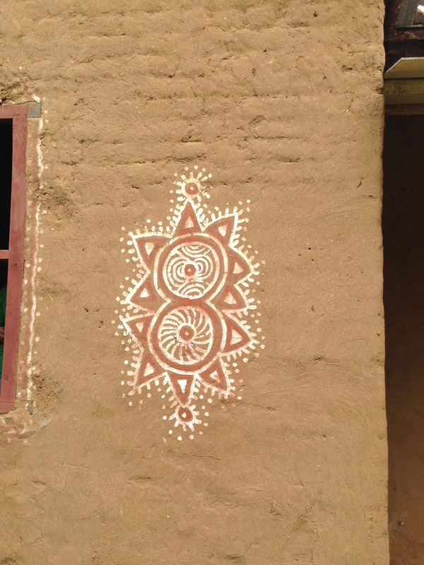 Dsource Design Gallery on Rajasthani Mandana  Rangoli on Mud Walls  Dsource Digital Online