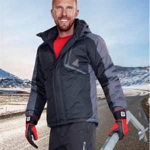 Ardon YORK páns. zim. bunda černo-šedá