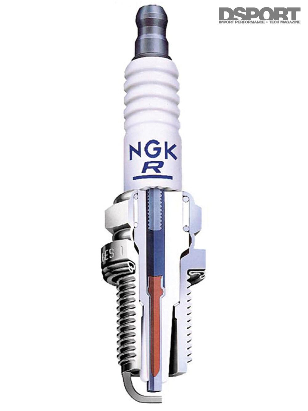medium resolution of cutaway of an ignition plug