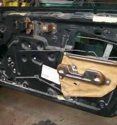 car door appart bad seals make for rusty doors  [ 1536 x 1024 Pixel ]